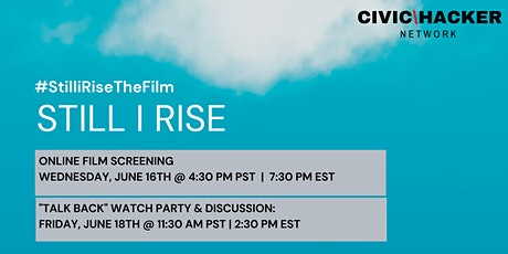 Watch Party: Still I Rise tickets