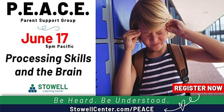 PEACE- June Parent Support Meeting tickets