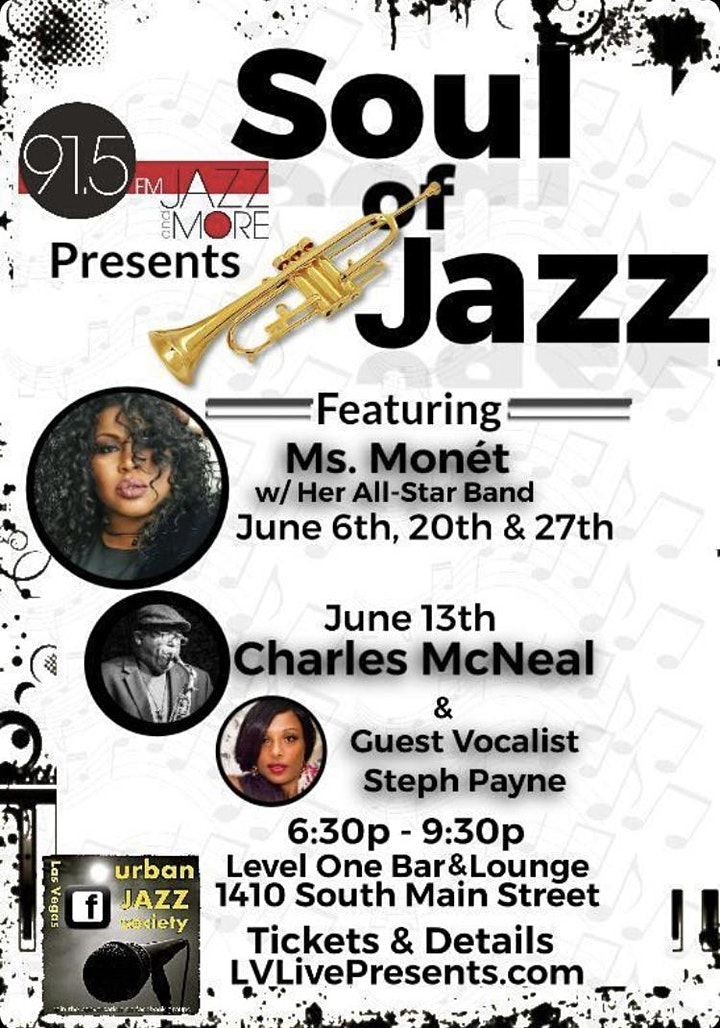 KUNV 91.5 Present Soul of Jazz feat The All-Star Band & Special Guests image