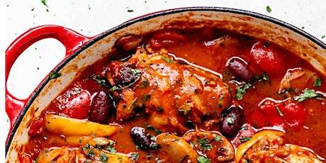 Italian Chicken Night! Marsala, Piccata, and Saltimbocca tickets