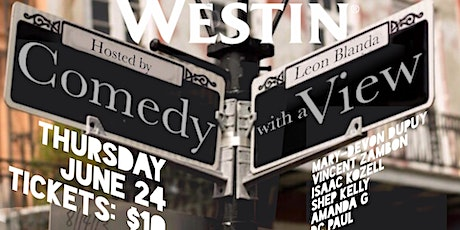 Comedy with a VIEW tickets
