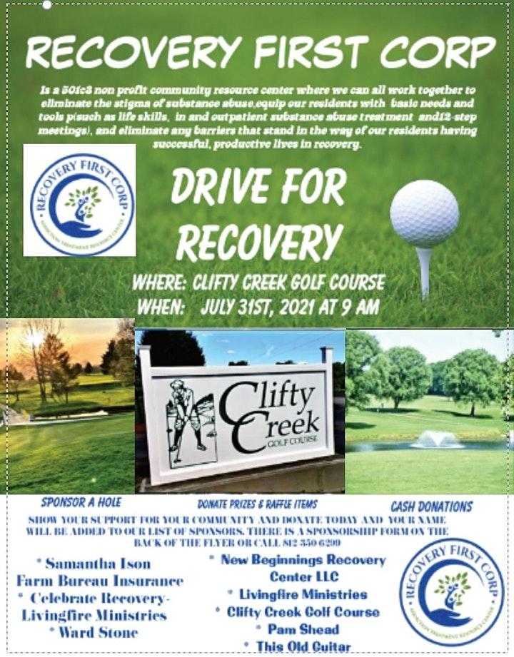 1ST ANNUAL DRIVE FOR RECOVERY image