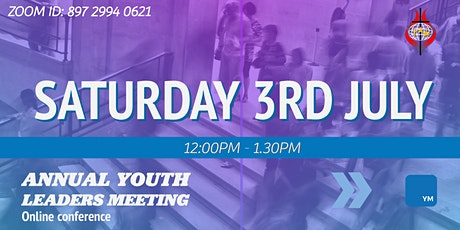 Annual Youth Leaders Conference tickets