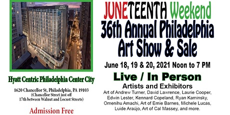 36th Annual Philadelphia Art  Show and Sale tickets