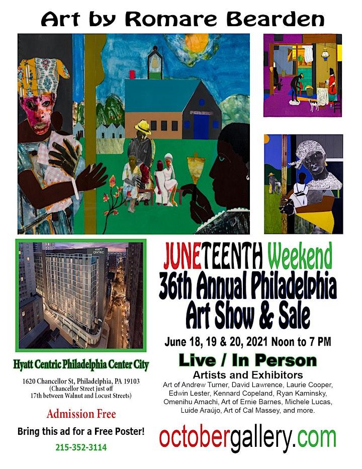 36th Annual Philadelphia Art  Show and Sale image