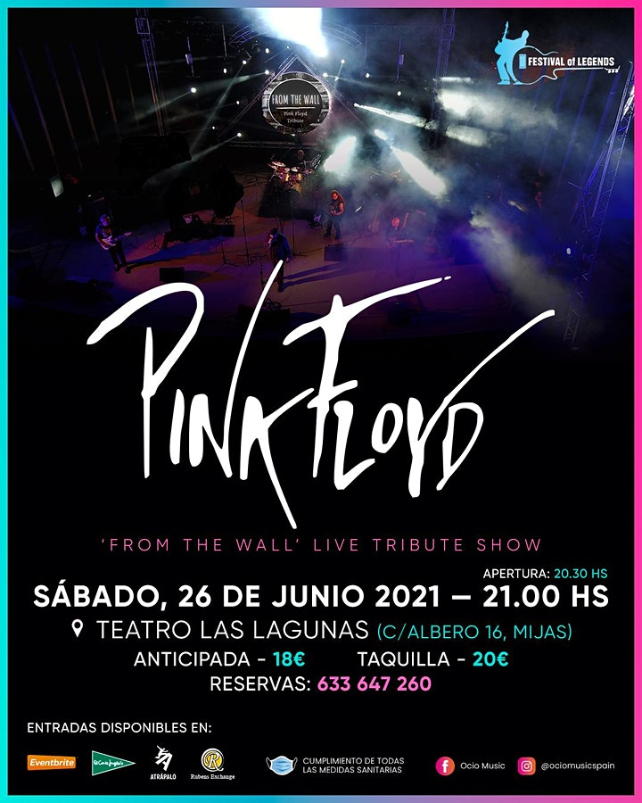 """Tributo a PINK FLOYD, """"FROM THE WALL"""" image"""