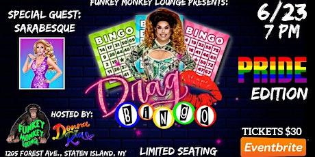 Drag Queen Bingo: PRIDE Edition at Funkey Monkey Lounge tickets