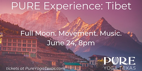 PURE Experience: Tibet tickets