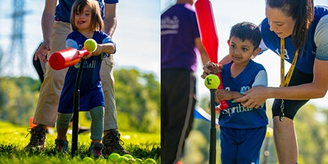 Free Outdoor Sportball T-Ball class: Children ages 3-5yrs @3:15PM EST tickets