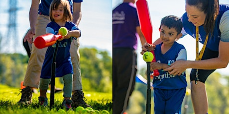 Free Outdoor Sportball T-Ball class: Parent and Child (2-3yrs) @2:15PM EST tickets