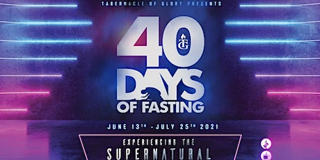 40  Days of Fasting - TG NY CAMPUS tickets