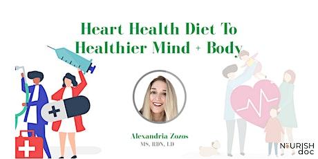 Heart Healthy Diet: Mediterranean biglietti