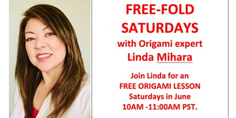 Free Fold Origami Saturday - Good Luck Crane tickets