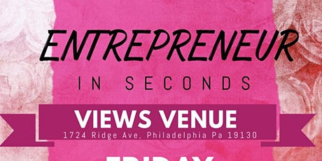 Entrepreneur In Seconds tickets
