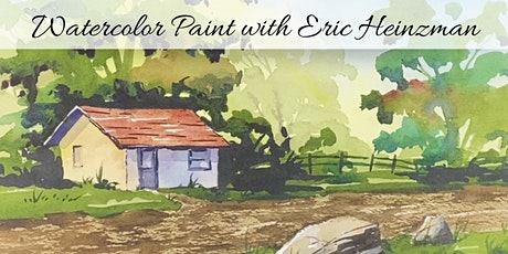 Beginner Watercolor Class with Eric tickets