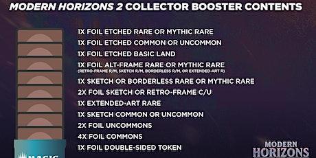 Modern Horizons 2 Collector Booster Pack Draft tickets