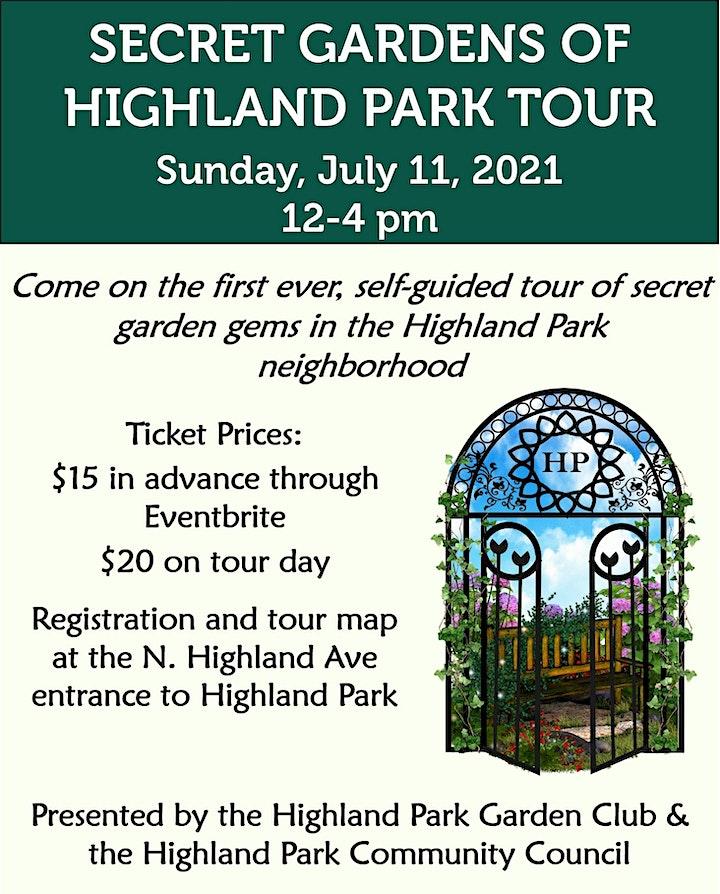 Highland Park Secret Garden Tour image