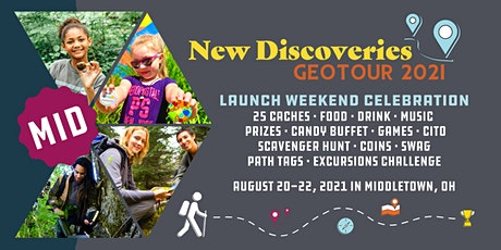 New Discoveries GeoTour Launch Weekend Celebration tickets