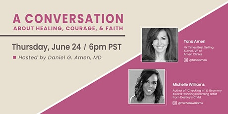 A Conversation About Healing, Courage, and Faith tickets