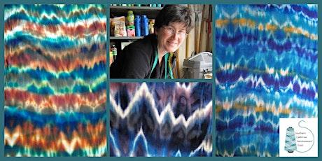 WeFF DIY Workshop: Arashi Shibori Dyed Silk Scarves with Kathleen Waln tickets