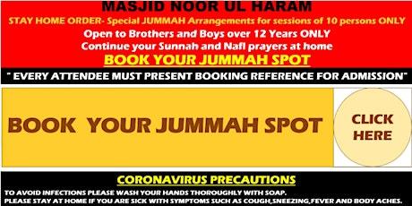 JUMMAH  - Friday 18th June 2021 tickets