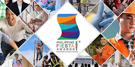 Philippine Fiesta Awards 2021 tickets