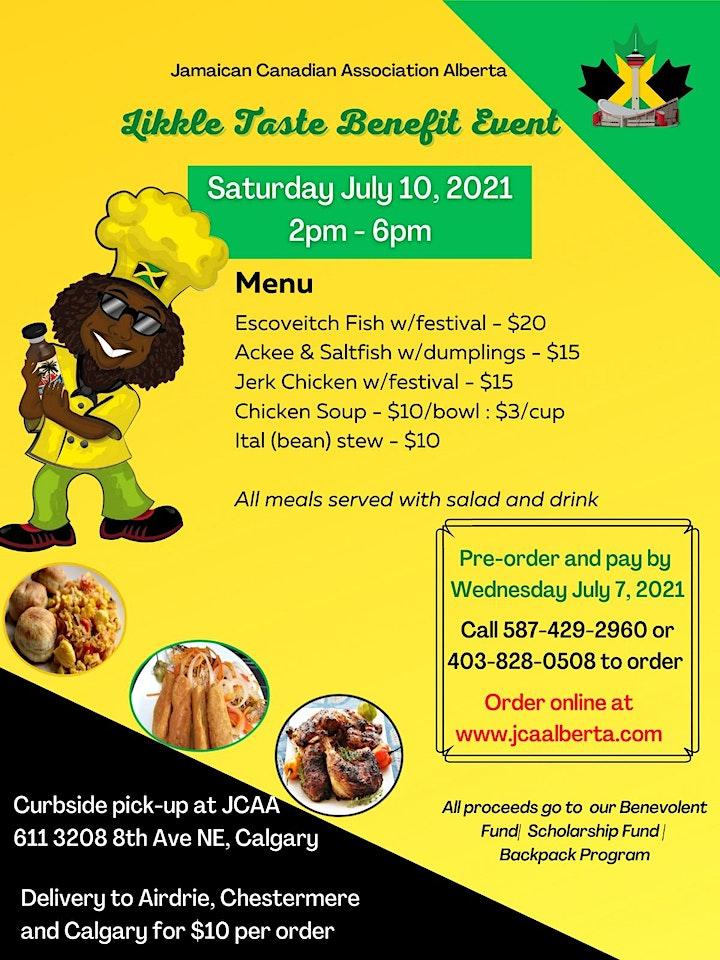 JCAA Likkle Taste Benefit Event image