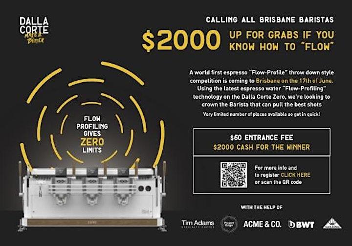 "The Espresso ""Flow-Profile"" Competition - Brisbane (spectator) image"