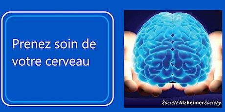 Présentation sur la santé du cerveau billets
