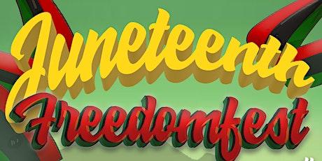 Juneteenth Freedomfest tickets