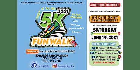 5k Fun Walk/Community Resource Fair tickets