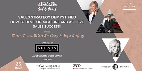 Sales Strategy Demystified I Future Females Gold Coast tickets