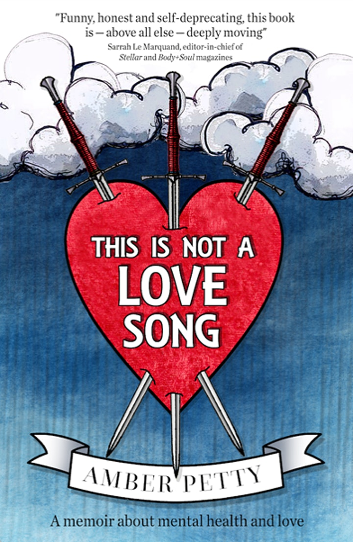 THIS IS NOT A LOVE SONG  book launch at THE LAB, Adelaide. image