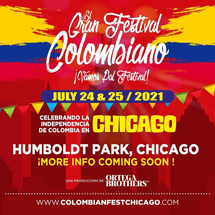 CHICAGO'S  COLOMBIAN FEST/ GRAN FESTIVAL COLOMBIANO image