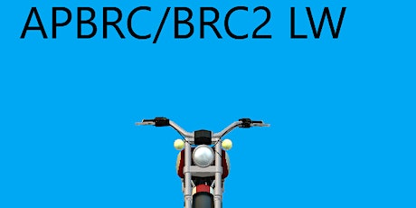 APBRC/BRC2#476CE 8/31 & 9/4 (Tues night classroom session & Sat AFTERNOON tickets