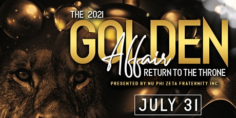 The Golden Affair: Return to the Throne tickets
