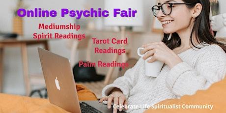 Psychic Fair  Online!  Mediumship, Tarot & Palm Readings tickets