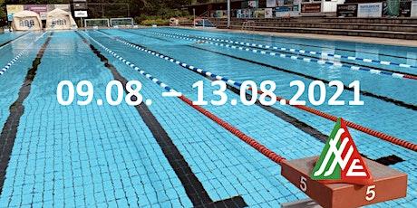 Swim & Fun 09.08.- 13.08.2021 (Schwimm- und Wasserball-Kurse) Tickets