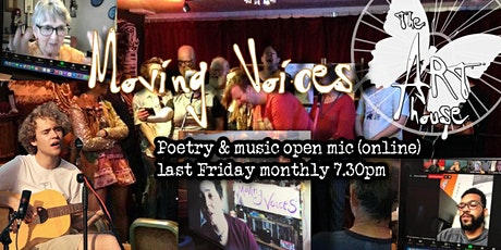 Moving Voices virtual open mic tickets