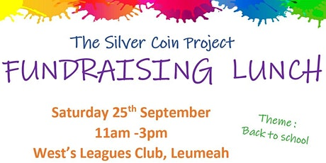 The Silver Coin Project Fundraising Lunch tickets