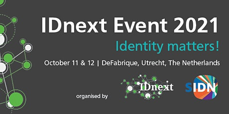 IDnext '21 - The European Digital Identity (un)-conference, The Netherlands tickets