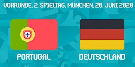 Public Viewing: Portugal - Deutschland Tickets