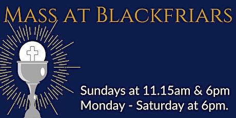 Mass at Blackfriars - Friday 18 June tickets