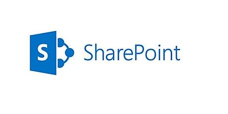 4 Weekends Microsoft SharePoint 101 Training Course Yuma tickets