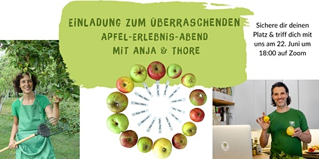 Einladung zum überraschenden Apfel-Erlebnis-Abend Tickets