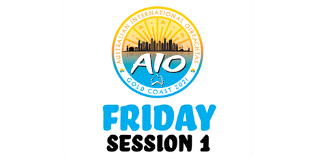 Australian International Oireachtas - Friday Session 1 tickets