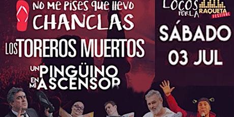 Locos por la Música en el XI Festival de Música Ciudad Raqueta entradas