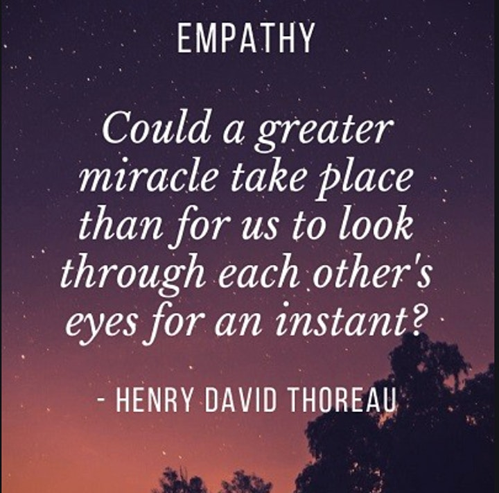 The Empathy Space - practicing speaking and listening with empathy image
