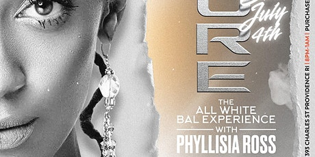 The All White Bal Experience With Phyllisia Ross tickets