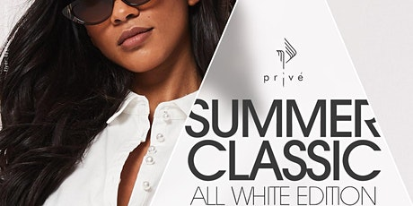 """Summer Classic """"All White Edition"""" Fashion show & AfterParty tickets"""